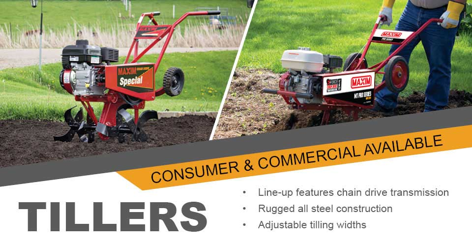 Consumer and Commercial Tillers Banner