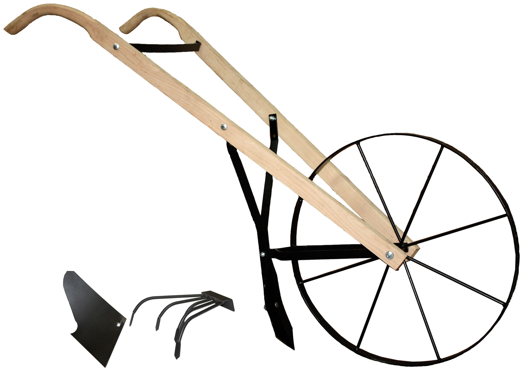 ... Front Right View Of The BHW 24 Hi Wheel Plow With Accessories