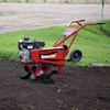 Action Shot of the MS50NB Mid Tine Tiller