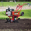 Action Shot View of the MS50NB Mid Tine Tiller