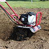 Close up View of the MTC35H Mini Max Tiller & Cultivator Drag Bar