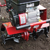 Front Right Close Up View of the RM30NB Compact Tiller
